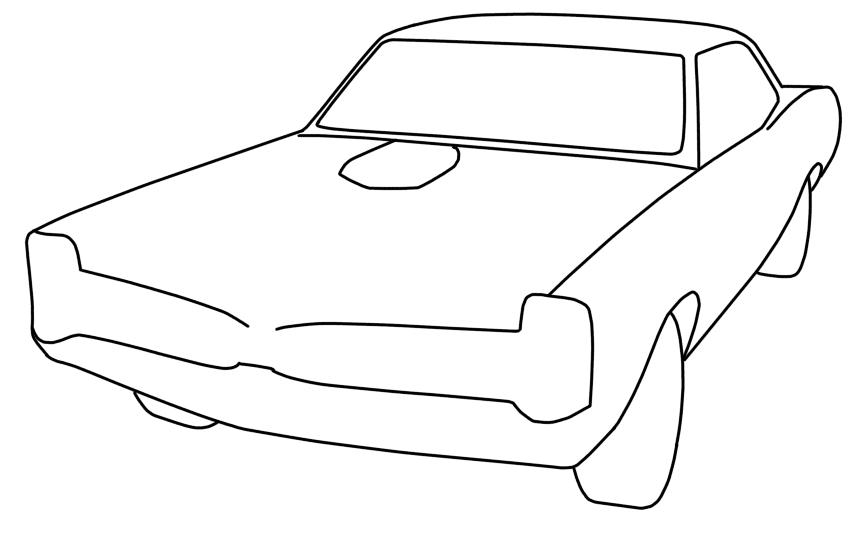 1966 pontiac gto  u2013 sketchye